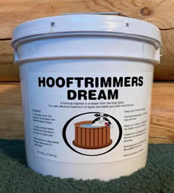 10 lb bucket of HTD ointment